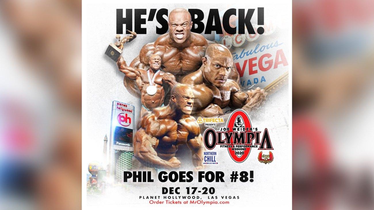 Phil Heath 2020 Olympia