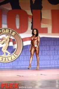 Alicia Harris - Women's Figure - 2011 Arnold Classic