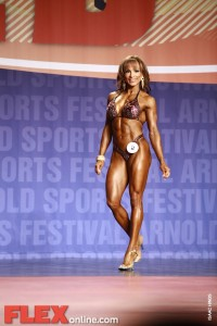 Adela Garcia - Women's Fitness - 2011 Arnold Classic