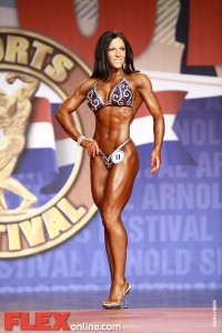 Trish Warren - Women's Fitness - 2011 Arnold Classic
