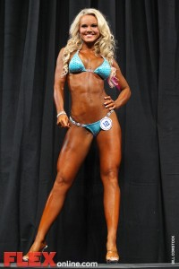 Justine Munro - Women's Bikini - 2011 Arnold Classic