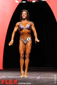 Jodi Boam - Women's Fitness - 2011 Olympia