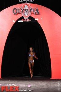 Dina Al-Sabah - Women's Bikini - 2011 Olympia