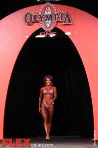 Cheryl Brown - Women's Figure - 2011 Olympia