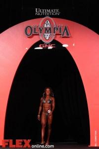 Alicia Harris - Women's Figure - 2011 Olympia
