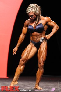 Debi Laszewski - Women's Open - 2011 Olympia