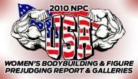 2010 NPC USA PREJUDGING REPORT AND GALLERIES