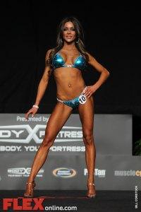Sarah Brown - Women's Bikini - 2012 Flex Pro