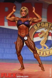 Cathy LeFrancois - Women's Open - 2012 Arnold Classic