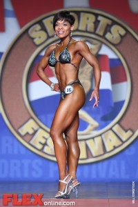 Gloria Tarpley - Women's Figure - 2012 Arnold Classic