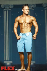 Burton Hughes - Men's Physique - 2012 Europa Show of Champions