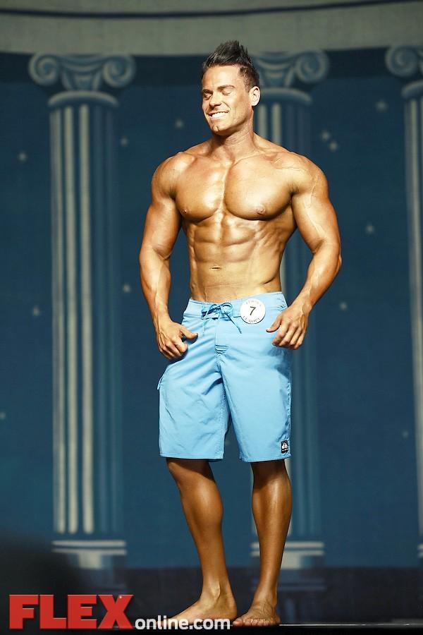 Burton Hughes - Men's Physique - 2012 Europa Show of Champions