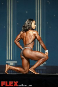 Ayanna Corroll - Women's Physique - 2012 Europa Show of Champions