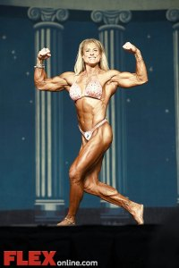 Beverly DiRenzo - Women's Physique - 2012 Europa Show of Champions