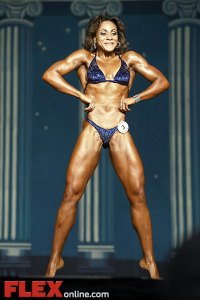 Rose Anne Duvigneaud - Women's Physique - 2012 Europa Show of Champions