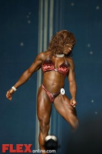 Cassandra Floyd - Women's Physique - 2012 Europa Show of Champions