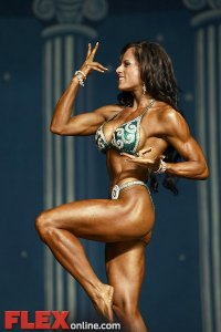 Jillian Reville - Women's Physique - 2012 Europa Show of Champions