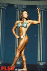 Jennifer Robinson - Women's Physique - 2012 Europa Show of Champions