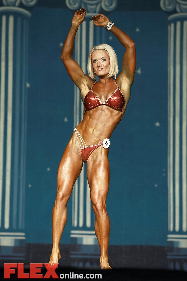 Joele Smith - Women's Physique - 2012 Europa Show of Champions