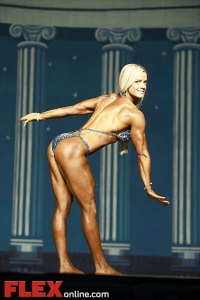 Kim Tilden - Women's Physique - 2012 Europa Show of Champions