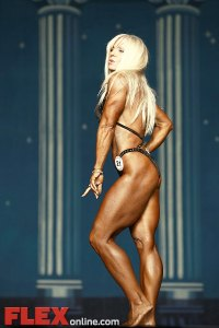 Stacey Pillari - Women's Physique - 2012 Europa Show of Champions