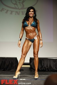 Jennifer Andrews - Women's Bikini - 2012 St. Louis Pro