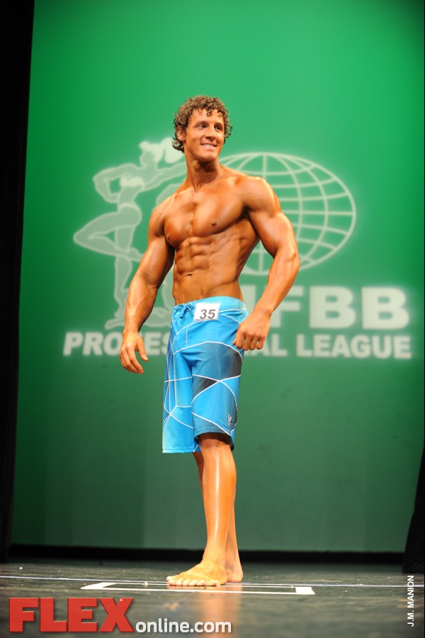 Collin Humphrey - Men's Physique - 2012 NY Pro