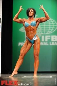 Dana Linn Bailey - Women's Physique - 2012 NY Pro