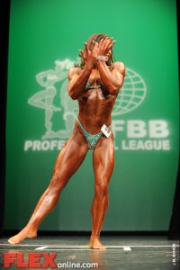 Michelle Blank - Women's Physique - 2012 NY Pro