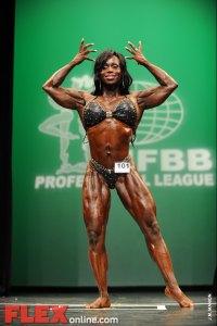 Dayana Cadeau - Women's Physique - 2012 NY Pro