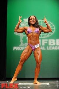 Ayanna Corroll - Women's Physique - 2012 NY Pro