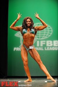 Heather Grace - Women's Physique - 2012 NY Pro