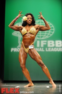 Carrie Simmons - Women's Physique - 2012 NY Pro