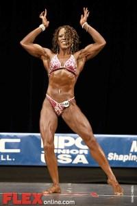 Evangeline Belton - Womens Physique - 2012 Junior USA