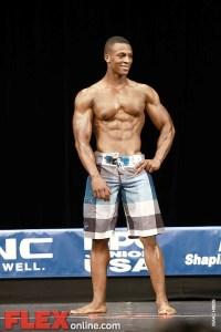 Michael Bevins - Mens Physique - 2012 Junior USA