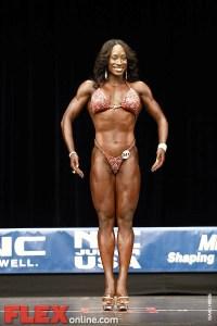 Tisilli Rogers - Womens Figure - 2012 Junior USA