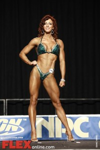 Tia Angle - Womens Figure - 2012 Junior National