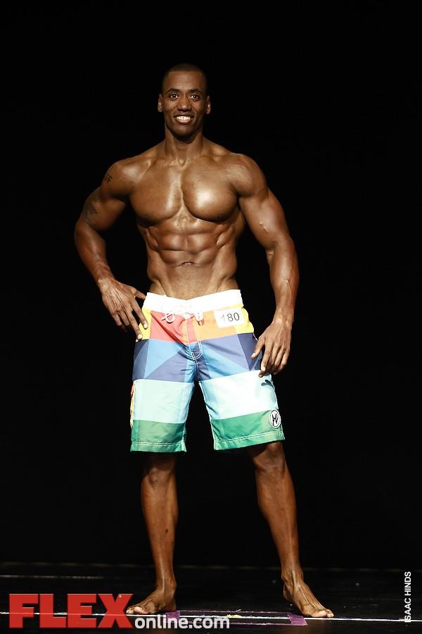 Sharif Reid - Mens Physique - 2012 Team Universe