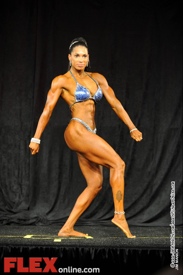 Jessica Gaines - Womens Physique B 35+ - Teen, Collegiate and Masters 2012