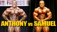 OLYMPIA DREAM MATCHUP: ANTHONY VS SAMUEL