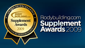 BODYBUILDING.COM PROTEIN POWDER OF THE YEAR