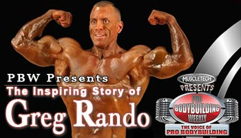 PBW:  The Inspiring Story of Greg Rando
