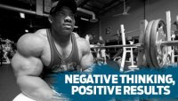 NEGATIVE THINKING, POSITIVE RESULTS