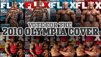 VOTE FOR THE 2010 OLYMPIA COVER!