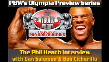 PBW OLYMPIA PREVIEW SERIES - PART II