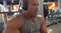 Gary Larson Takes Us Through A Chest Workout Before Masters Nationals