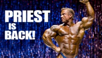 IT'S OFFICIAL: LEE PRIEST IS BACK IN THE IFBB