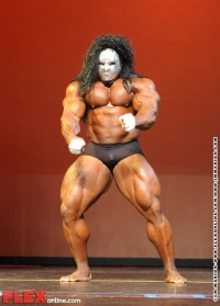 Kai Grene Guest Posing at the Adela Garcia Classic