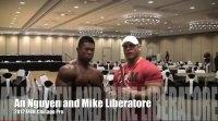 Mike Liberatore Interviews An Nguyen after Prejudging