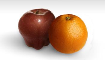 APPLES VS. ORANGES